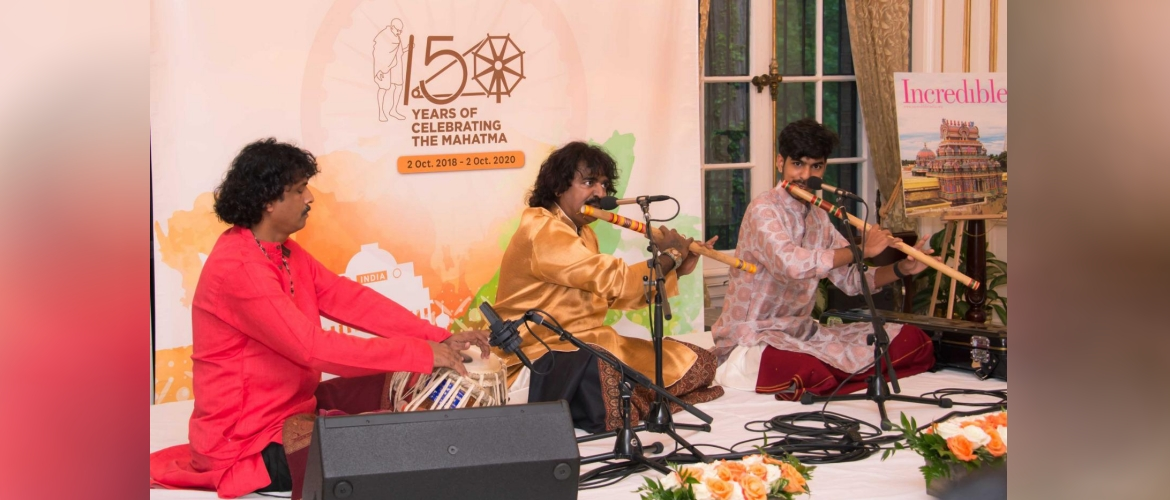 An Evening of Hindustani Music by Pt. Pravin Godkhindi at India House, May 3, 2019