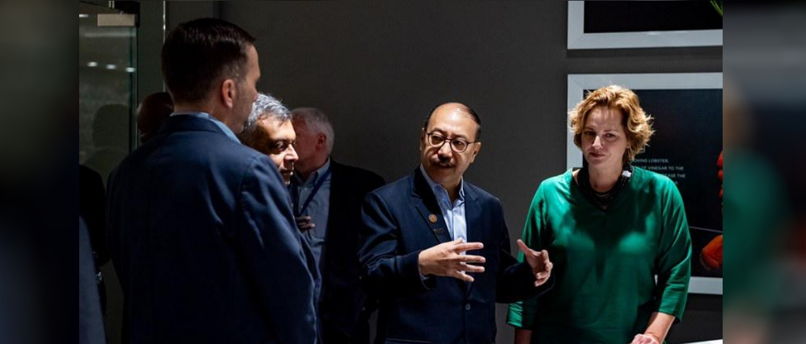 Ambassador Harsh Vardhan Shringla  visit to GE Appliances Park, Louisville, KY