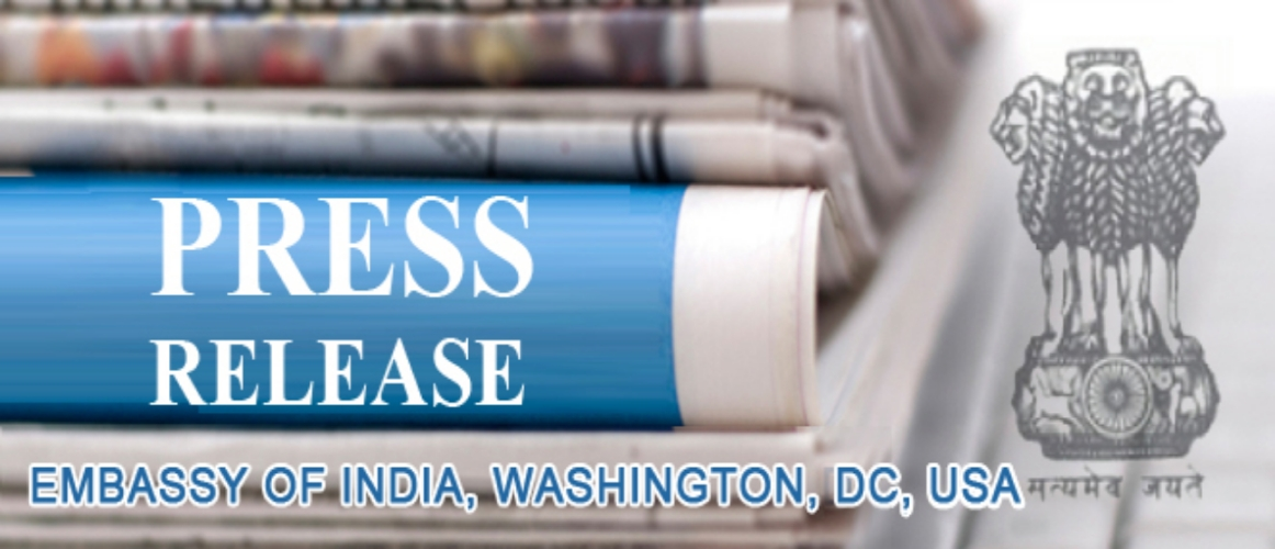 Press Release - Visit of Chief Minister of Andhra Pradesh to the US